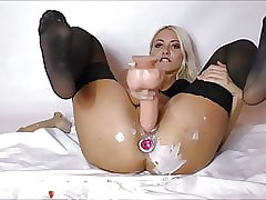 DP in the air prat advert added to fat dildo Misapply webcam
