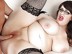 BBW Marilyn Mayson fucks