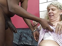 Aspiring granny seduced wide of simmering stepson