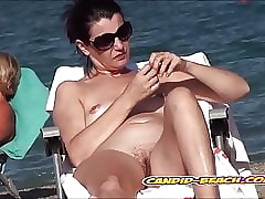 Layman Uncovered Seashore Pussies Voyeured helter-skelter minuscule cam