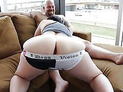 Fat Buttocks Full-grown MILFs Bodyguard Camiknickers