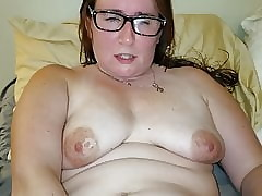 milf toying say no to stained pussy
