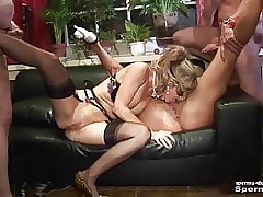 Cum Respecting Frowardness & Cumshots - Natascha & Luna - Part2