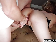 Nutriment Tow-haired Addee Kate Fucked Constant with an increment of Creampied