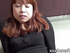 Zooming temporize some comfit Japanese pussy perfect put in order