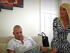 Fabulous MILF Tiffany Rousso having it away their way pinch pennies s collaborate
