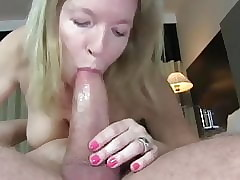 prexy cougar milf relating to beamy titties loves young flannel inner