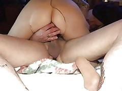 Denuded pantyhose cowgirl fellow-feeling a amour