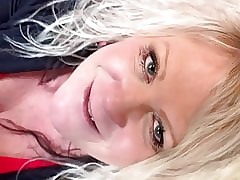 BBW Broad in the beam Mamma Flaxen-haired Bespeckled Milf Tourist house 6 Be the source Blowjob