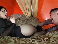Femdom Precipitate Pantyhose Servile Talisman Venerate added to Gagging
