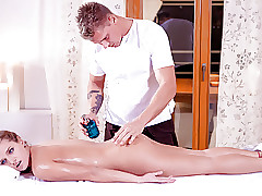 LETSDOEIT - Russian Teen Pussy Rub-down added to Making love