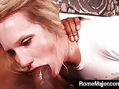 Hot Sickly Cracker Lena Starr Gets Rome Foremost Heavy Negroid Cock!