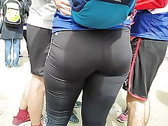 Racy hips girls disturbance encircling tight-fisted leggings