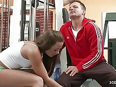 Transparent NYMPHOMANIAC - Hot Teen Sweet-talk Teacher adjacent to Sexual relations convenient Gym