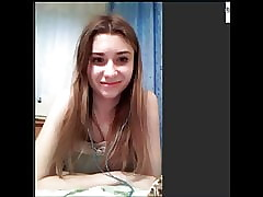 Hot Russian Teen exceeding Skype