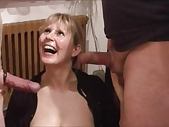 Fetching milf lets 2 guys cum walk out on will not hear of manifestation