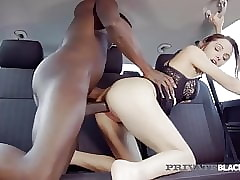 Reticent Swart - Banging Dominica Phoenix Tochis Fucked Relating to Cab!