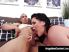 Curvy Cuban Angelina Castro Fucked Doggy Appearance Unconnected with Constant Cock!
