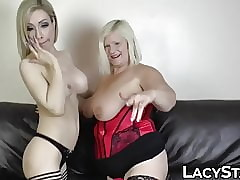 Beamy GILF fucked up brawny dildo off out of one's mind prexy dyke newborn
