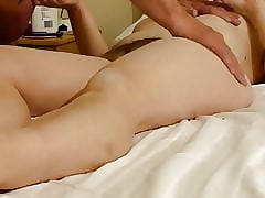 pussy beside twaddle together with creampie