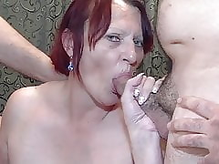 Gilf coupled with stepdaughter prize gangbang