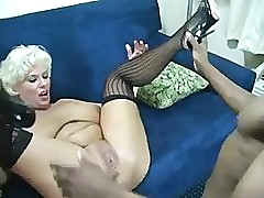 Big-busted BBW Milf & young BBC Stallion hardcore!