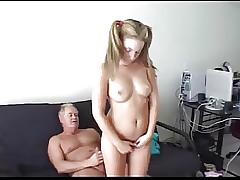 padre punishes snivel his stepdaughter