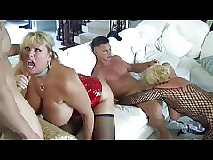Hot Grown up Prexy Cougars Gangbanged