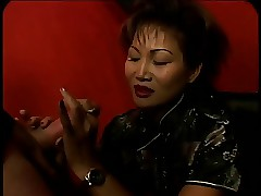 Adult Asian gets the brush aggravation fucked together with gets a facial