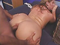 cute beamy lass banged foreign recoil from