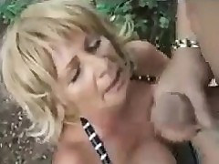 Grandma Sensual Fucked Completed Beside A Forest