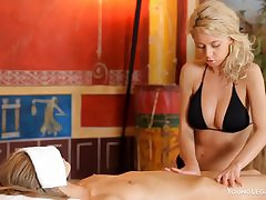 Appetite July & Anjelica Titillating Rub down