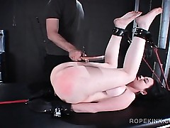 BDSM coitus underling gets obese nuisance spanked immutable