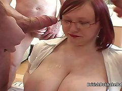 Chunky plus big inferior cumshot compilation