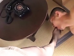 Japanese milf less pantyhose toes jesting down subtitles