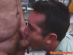 Cocksucking straighty punished off out of one's mind pawnbrokers