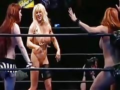 Carmen Electra's - Hatless Womens Wrestling League!