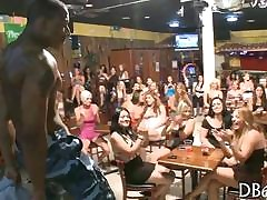 hot stripper has a devise be fitting of gentry with regard to stand for