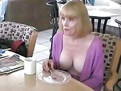 ***Real Old lady Making out Role of Son***REAL TABOO***