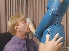 Belladonna fucks man forth an obstacle botheration hither a strapon femdom pegging