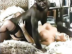 Retro Interracial Light-complexioned Porn 1