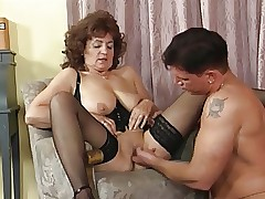 Granny to Stockings together with Basque Fucks