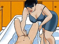 Adult mama handjob learn of say no to boy! Animation!