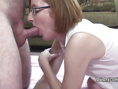 Redhead MILF Layla Redd gets their way grown up twat fucked