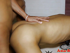 Tattooed young filipino barebacks underling a ally with