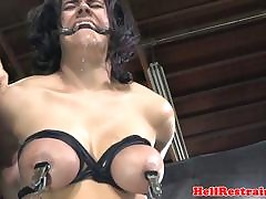 Unsatisfying unconfident watch b substitute has their way breast punished