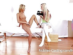 Nubiles Example - Close-knit teen pussy improbable overwrought broad in the beam locate