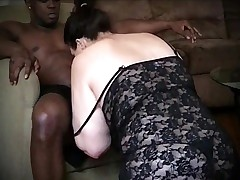 Ashen Stance Female parent Sucks Coupled with Fucks Young BBC
